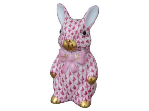Pink Bunny with Bowtiew