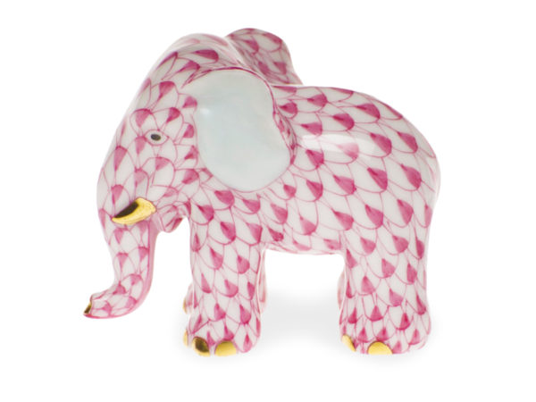 Herend Pink Elephant