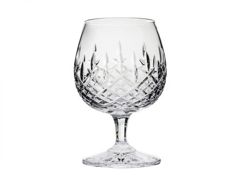 A single Royal Scot Crystal London Brandy Glass