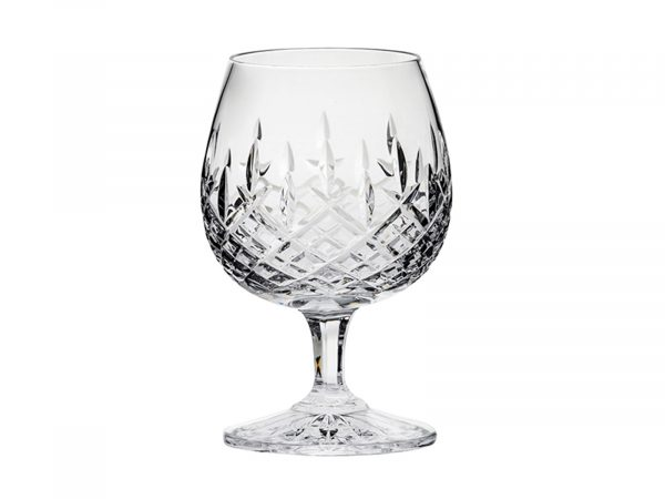 A single Royal Scot Crystal London Brandy Glass