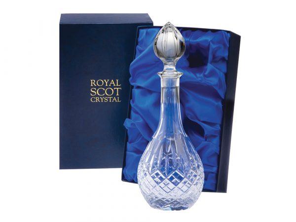 Royal Scot Crystal London Wine Decanter