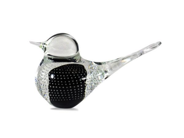 Svaja Big Basil Bird in Black with Bubbles