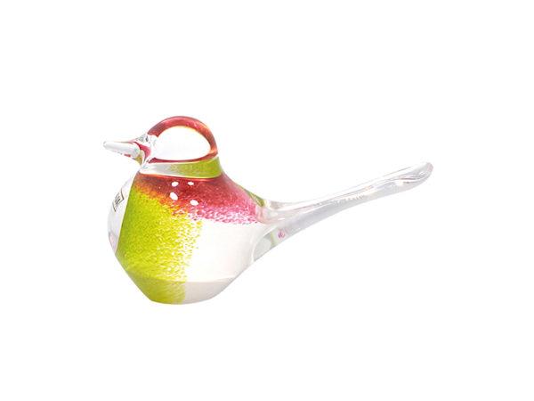 Svaja Basil Bird in White, Lime and Cherry