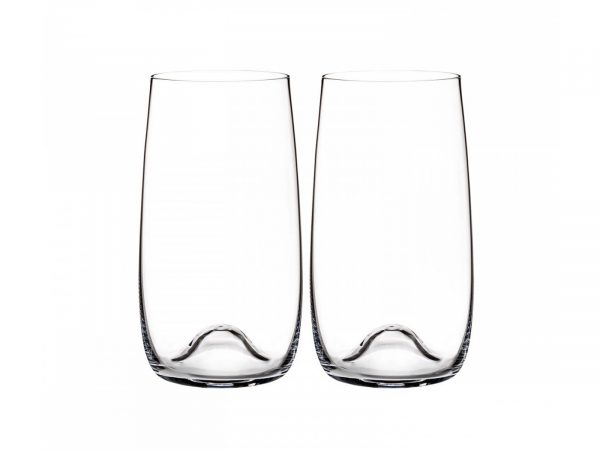 This stunning pair of glasses ideal for long drinks are part of Waterford's latest range of crystal drink and barware, the 'Elegance' collection. It's flawlessly modern profile, combined with the striking Platinum banding make for a wonderful user experience. Perfect for entertaining, this stunning range beautifully compliments fine wine and quality spirits, allowing them to be truly and fully appreciated. Size: 14 x 8 cm By Waterford Crystal Product code: 40015810