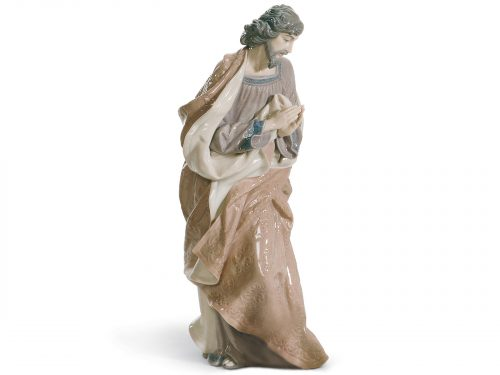 Lladro Porcelain Figurine of Saint Joseph