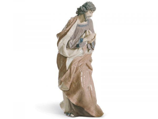 Lladro Porcelain Figurine of Saint Joseph