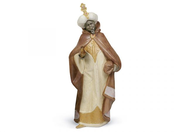 Lladro King Balthasar porcelain figure, 01012280.