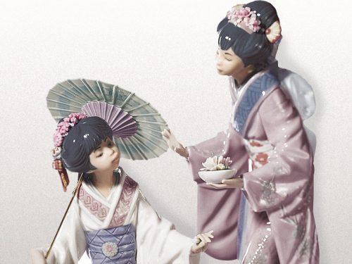 Lladro Japanese Porcelain