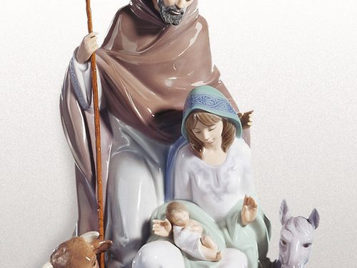 Lladro Nativity Porcelain