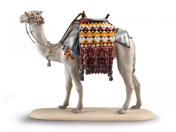 Lladro Porcelain Camel 01002008
