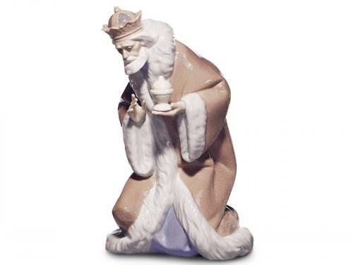 Lladro Porcelain figurine of King Melchior