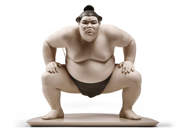 Lladro Porcelain Sumo Fighter 01009080