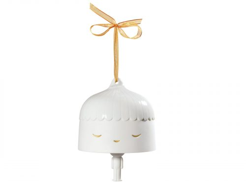Lladro Bell- Friends With You (White-Golden) 01009111