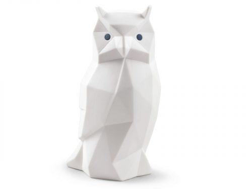 Lladro Owl (Matte White) 01009270