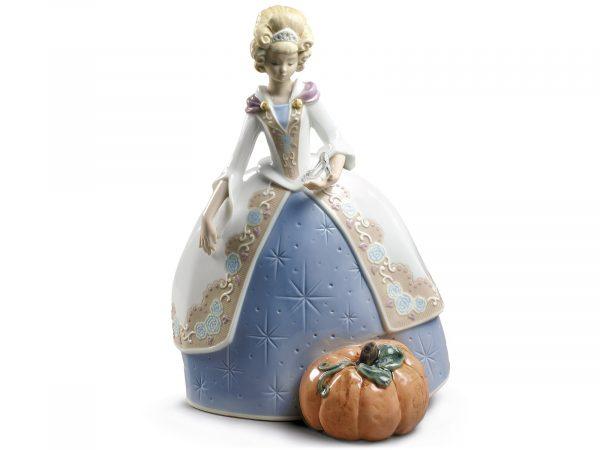 Lladro Porcelain Cinderella 01009353