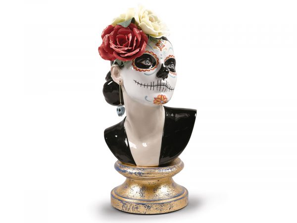 Lladro Porcelain Beautiful Catrina 01009374