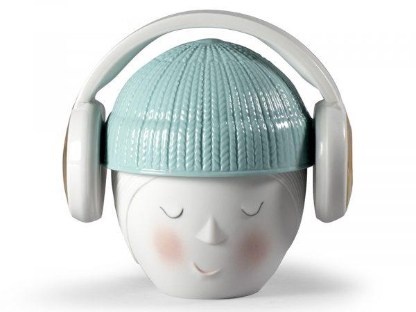 Lladro Lee Headphones Box (White) 01009383