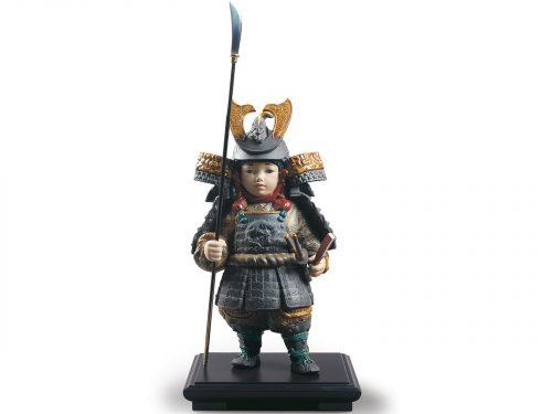 Lladro Porcelain Warrior Boy 01012533