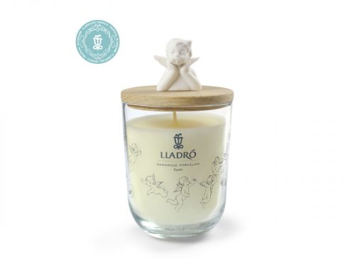 Lladro Porcelain Missing You Candle Tropical Blossoms 01040134