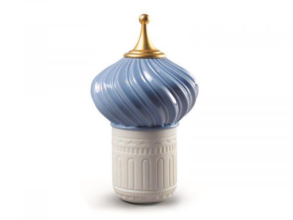 Lladro Porcelain Mauve Spire Candle 1001 Lights