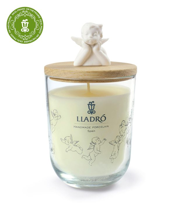 Lladro Porcelain Missing You Candle On The Prairie 01040164