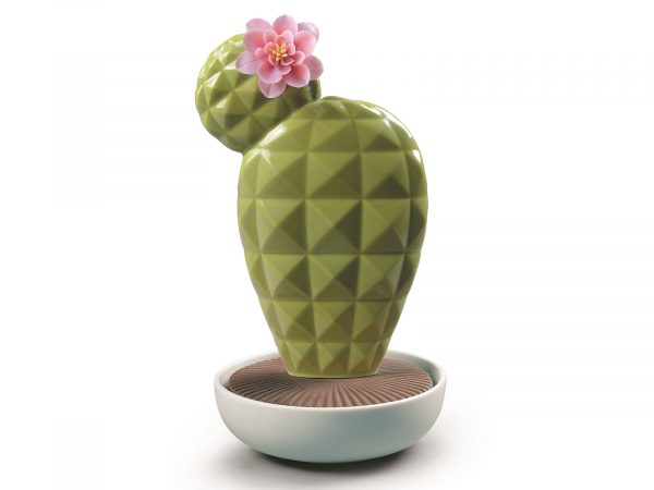 Lladro Porcelain Opuntia Cactus-Tropical Blossoms 01040188