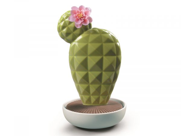 Lladro Porcelain Opuntia Cactus Night Approaches 01040189