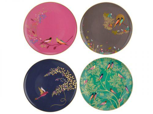 Sara Miller London Cake Plates s/4