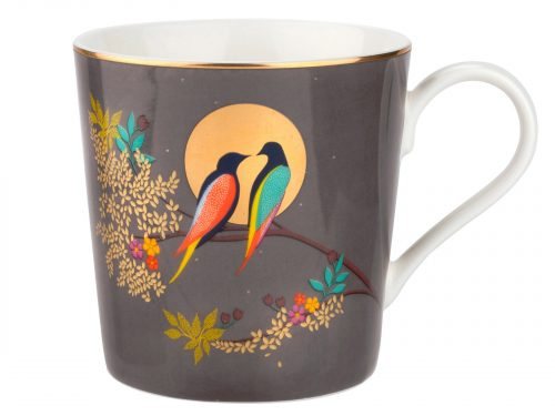 Sara Miller London Dark Grey Mug