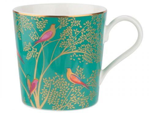 Sara Miller London Green Mug