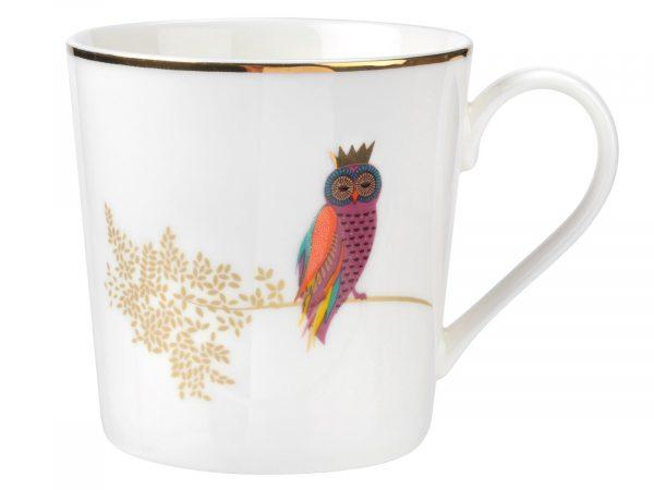 Sara Miller London Opulent Owl Mug