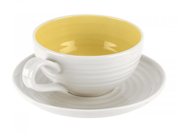 Sophie Conran Set of 4 Tea Cup & Saucer - Sunshine