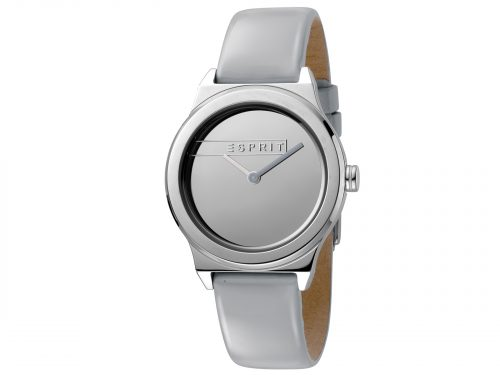 Esprit Light Grey Patent Leather Watch