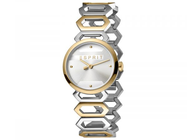 Esprit Stainless Steel, Two-Tone Gold Plated Watch