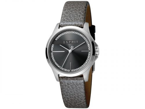Esprit Grey Calf Leather Watch