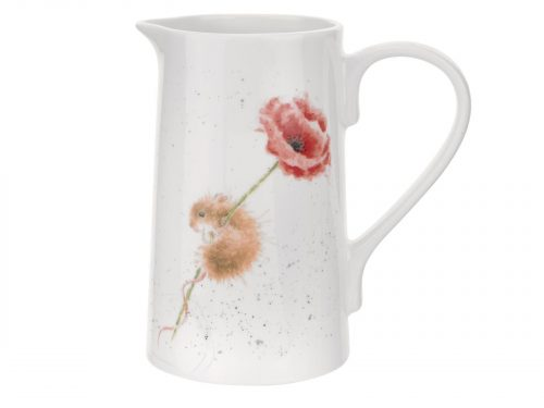 This is a gorgeous design, with vibrant colours and beautiful detail, a mouse climbs up and Poppy. A great gift and lovely addition to the Kitchen. Size: 1.13L - 2pt. By: Wrendale. Product Code: WN4002-XT.
