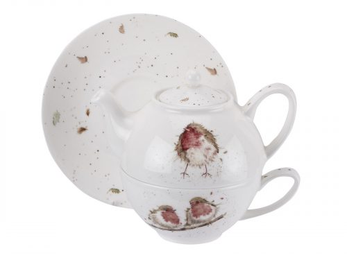 This Teapot and Saucer is stunning. With its vibrant colours of red and brown and exquisite detail within the illustration, it makes for the perfect cup of tea. Size: 0.30L - 10fl.oz. By: Wrendale. Product Code: WNLK3917-XW.