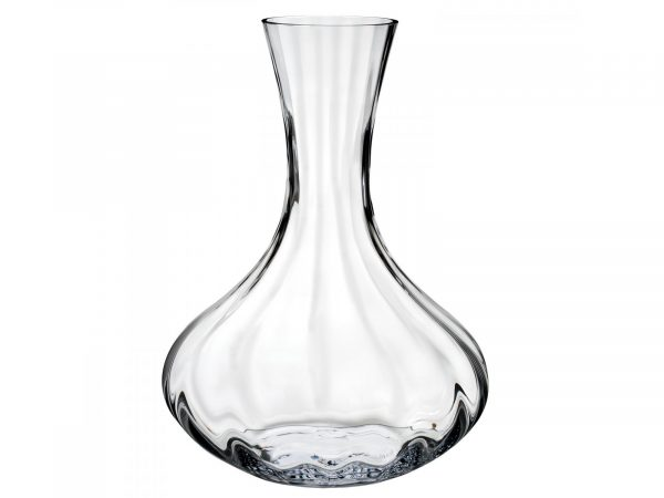 This beautiful Waterford Crystal Elegance Optic Carafe is the perfect way to serve your favourite drink in style adding finess and with this stunning Waterford Crystal Elegance Collection you can easily transform any entertainment or event into a truly elegant occasion. Size: Height: 280cm Width: 205cm Depth: 205cm Capacity: 1000ml By: Waterford Crystal Product Code: 40029105