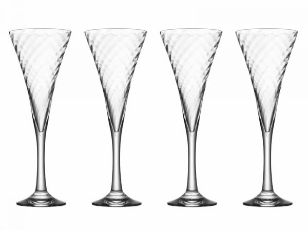 Orrefors Helena Champagne Glasses (Set of 4) 6244702