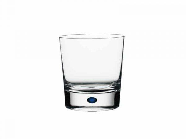Orrefors Intermezzo Blue Double Old Fashioned Glasses 6257441