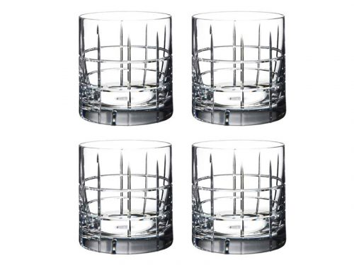 Orrefors Street Old Fashioned Glasses (Set of 4) 6540103