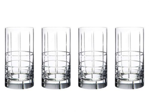 Orrefors Street Highball Glasses (Set of 4) 6540110