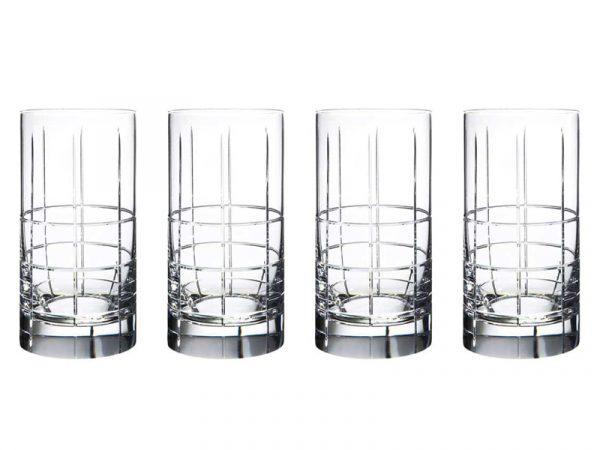 Orrefors Street Highball Glasses (Set of 4) 6540110