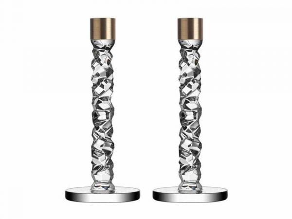 Orrefors Carat Candlesticks 10 cm 6590162
