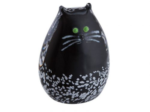Caithness Purrfect Black & White Cat Paperweight U17059
