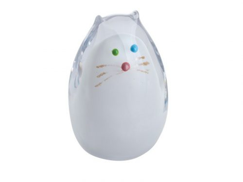 Caithness Purrfect White Cat Paperweight U17067