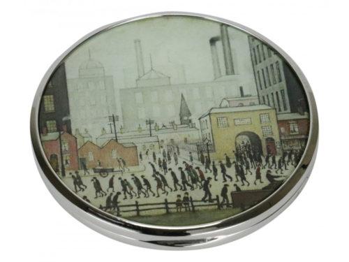 John Beswick Coming From The Mill Pocket Mirror