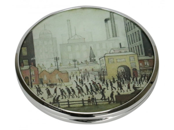 John Beswick Coming From The Mill Pocket Mirror