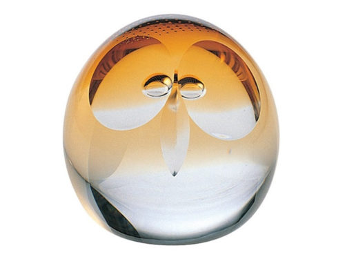 Caithness Glass Wise Owl Paperweight