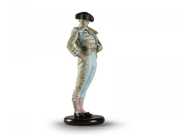 Lladro Bullfighter - Blue (Limited Edition of 300)